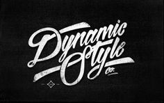 Typeverything.com Dynamic Style Co. (via... - Typeverything #type