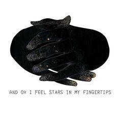 FFFFOUND! | eugenieoh #galaxy #black #hands