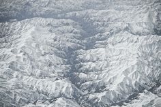 Crystal Valley.   Flickr - Photo Sharing! #abstract #white #lines #cyan #snow #landscape #photography #blue #mountains