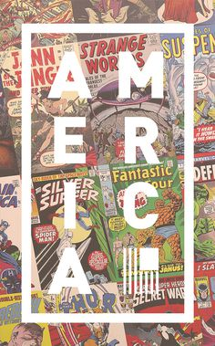 America Posters Series #america #design #culture #posters #usa