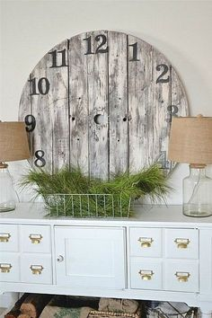 #wall #clock #time #wood #wooden #brown