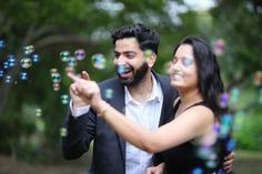 Pre wedding photoshoot trick