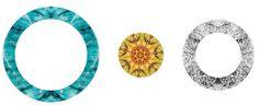 Self Promotion #pattern #self #journey #design #graphic #circles #texture #illustration #identity #logo #promotion