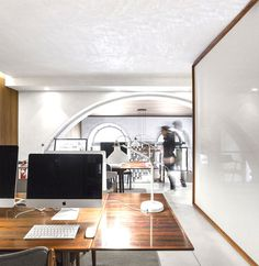 The Hotel Room for Ideas Office by ColectivArquitectura