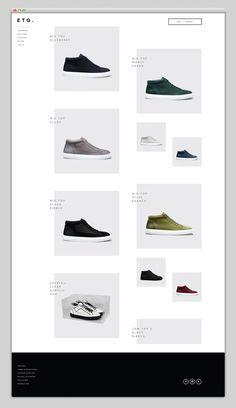 Websites We Love — Showcasing The Best in Web Design #website #web design #ui #ux #interface design #shoes