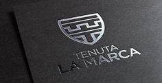 logo design https://www.behance.net/gallery/18625937/Tenuta-La-Marca #logo #design
