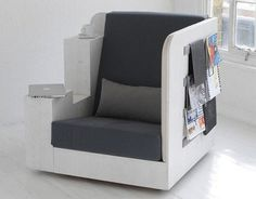Reading in OpenBook Chair, your mini study, is as quiet and solitary as you want it to be!