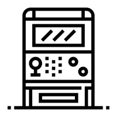 See more icon inspiration related to game, arcade game, arcade machine, hobbies and free time, recreational, game console, joy, video game, arcade, gaming, entertainment and electronics on Flaticon.