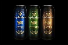 Frydenlund on the Behance Network #beer #label