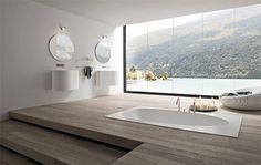 For the Record, archiphile: via trendir #interior design #infloor bathtub