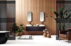 ISSY Bathroom Collection - #bath, #interior, #decor, #home