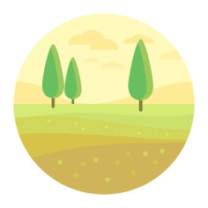 See more icon inspiration related to farm, rural, house, nature, country, fields and hills on Flaticon.