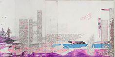 Lukas Goebl City of Beautiful Bodies I – III #urban #graphic