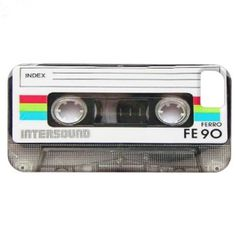 Funny Vintage 80s Retro Music Cassette Tape #iphone5 case