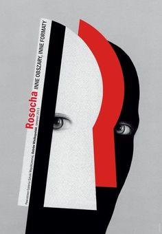 Inne obszary, inne formaty, Rosocha Wieslaw, Galeria Plakatu #polish #poster