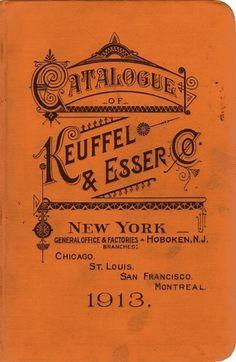 Typography / Keuffel & Essel Co., type, vintage, lettering #type #vintage
