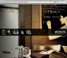 Graphic Design Ideas / restaurant web design #jkjhljkl