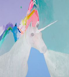 Unicorns #painting #color #unicorn #art