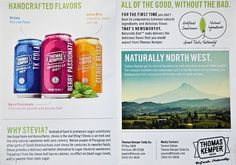 Thomas Kemper Naturally Diet Zero Calorie Soda | The World of Beverage Drink #adv #pack
