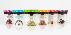Safeway Select® Gelato The Dieline #packaging #food