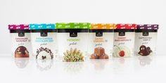 Safeway Select®Gelato The Dieline #packaging #food