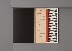 An Inquiry Into Meaning by Main Studio #print