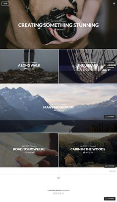 photography, minimalist, web design, layout, grid #layout #design #grid #photography #minimal #minimalist #web