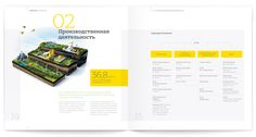 Brochure & Annual Reports #cross #section #layout #ring #chart