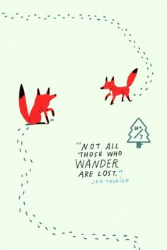 Wander Blog #illustration #typography #project #postcard