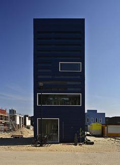 FARO Architecten BV: Experimental Home In Ijburg
