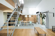 Townhouse in Ikegami by Ship Architecture