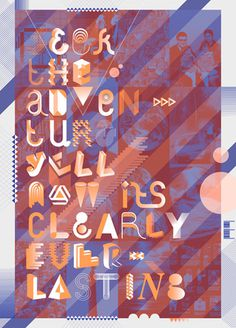 staynice mailing poster by staynice #poster #typography