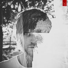 Double Exposure Portraits | Fubiz™ #double exposure #portraits