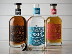 Mission Tequila #packaging #bottle