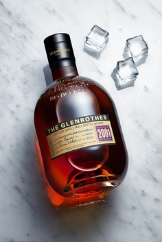 Kenyon Manchego | Photographe still life/packshot luxe - Paris - WHISKY THE GLENROTHES | NATURE MORTE PARIS