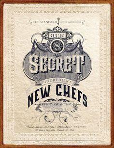 Smithhouse 1843 #typography #vintage #poster #nashville