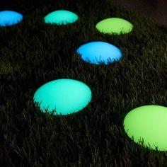 Photoluminescent Road Markers #tech #flow #gadget #gift #ideas #cool