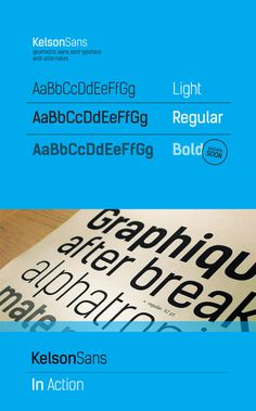 Kelson Sans #font #free #type #download #typography