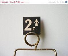 ON SALE 2 Cents Vintage General Store Price Tag #vintage #type #tag #price