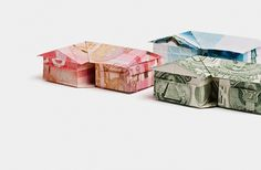 Payment Systems Group on the Behance Network #photography #origami #house #money