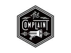 Esquire - The Complaint #logo #megaphone