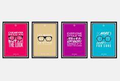 visualmakersf.com - AOC 1961 #posters #eyeglasses #retro #icons