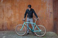Bianchi MTB #bicycle #bianchi #cycle #mountainbike #6027 #lichtgrn #bike #rap #brooks