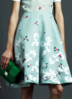 Fashion photography(Valentino Pre Spring 2013, via fuckyeahfashioncouture) #fashion #valentino #dress