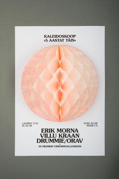 designeverywhere:Kaleidoskoop #poster #3d #dimensional