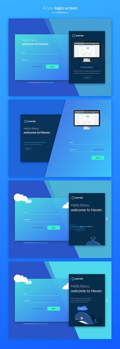 Login Experience Redesign on Behance
