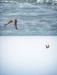 photo #ocean #legs #surface #photography #sea #reversed #swim #swimming