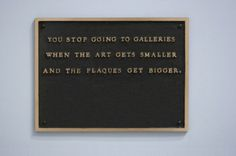 STOP (JENNY HOLZER) #jenny #installation #contemporary #holzer #art #museums