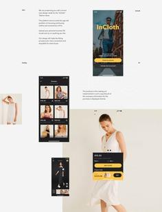 InCloth App Design