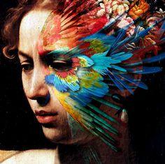 Caravaggio #collage #masters #color